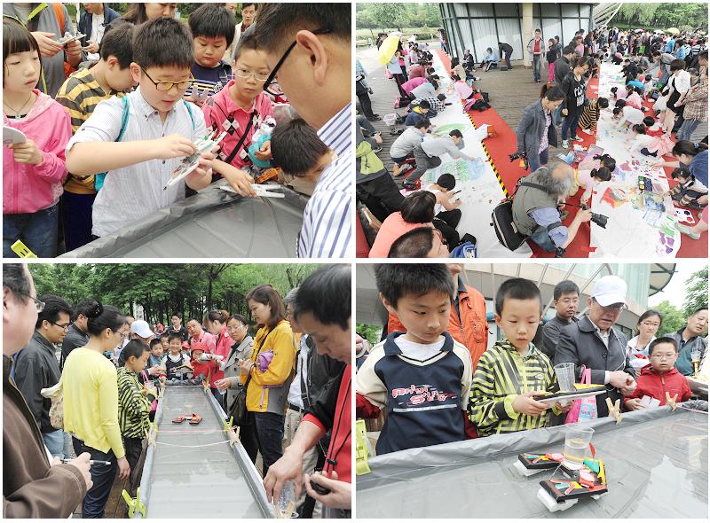 静安青少年积极参加 节水防污玩科学 活动
